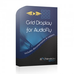 Grid display for AudioFly