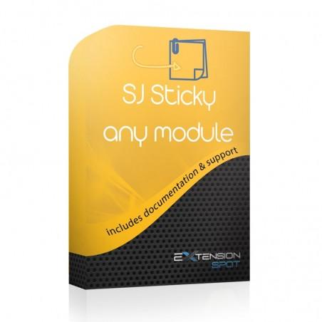 SJ Sticky Any Module